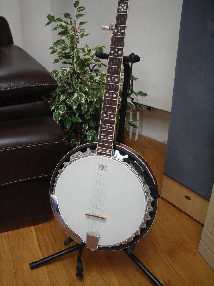 Banjo Fender 5 Cordes