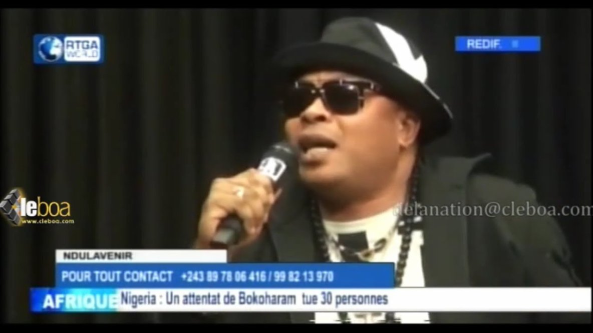 "Regardez ""JB MPIANA : orchestre moko te na CONGO efutaka ba musiciens chaque mois, bakosa bino te"" sur YouTube"