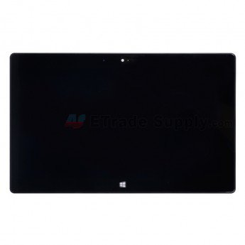 Microsoft Surface RT LCD & Digitizer with Front Housing Black - ETrade Supply