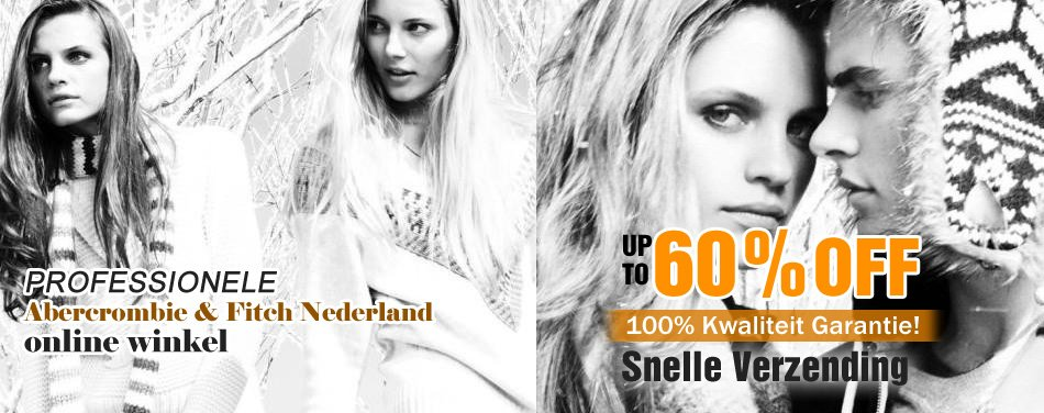 Abercrombie and Fitch Nederland, 60% Korting at Amsterdam!