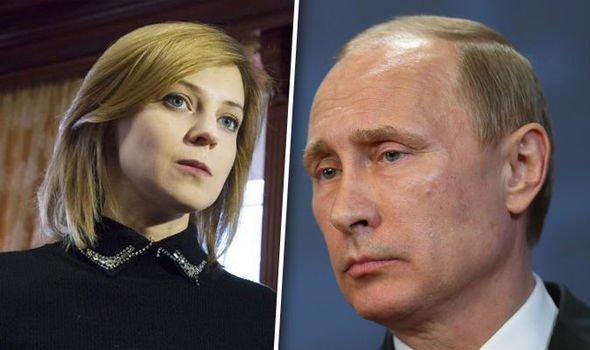 Could THIS bombshell be the next Putin? Crimea's 'Iron Princess' heading for Kremlin