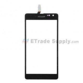 Microsoft Lumia 535 Dual SIM Digitizer Screen (2S Version) Black - ETrade Supply