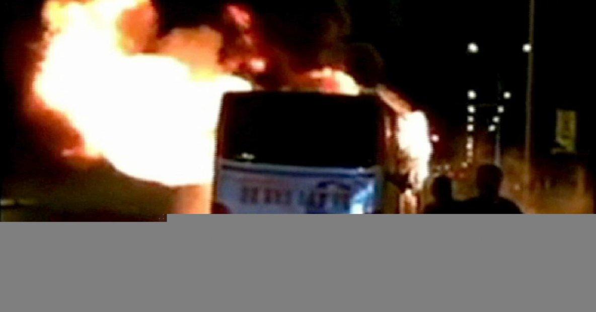 05-01-2016 - Chine - Incendie d'un bus en Chine : l'auteur arr�t�