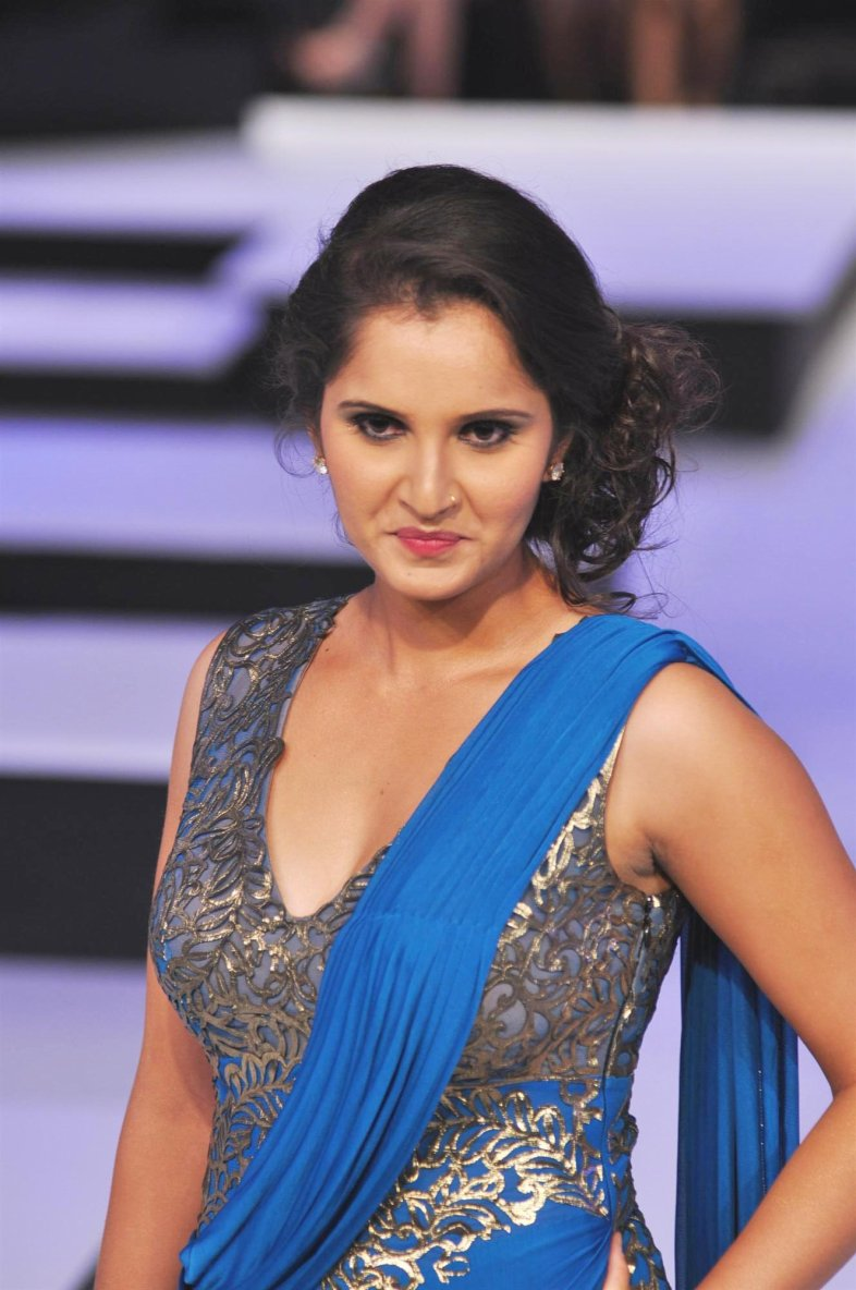 Indian Legendary Lawn Tennis Player Sania Mirza Godhuly
