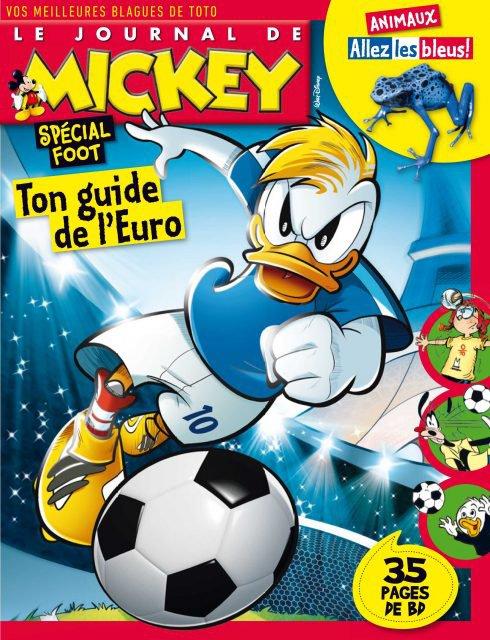 Le Journal de Mickey se met � l'heure du foot