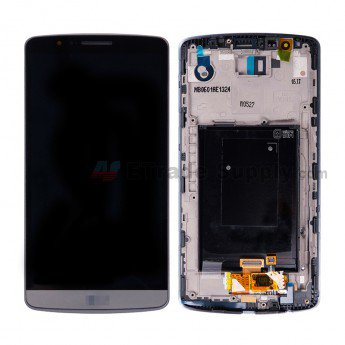 LG G3 D850 LCD Screen and Digitizer Assembly with Front Housing - ETrade Supply