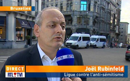"""Fusillade au Musée Juif à Bruxelles: """"Ce qui s'est passé était prévisible"""""""