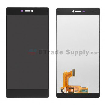 Huawei P8 LCD Screen and Digitizer Assembly Black - ETrade Supply