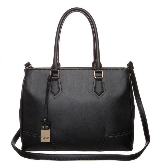 gabor joana sac main noir sacs main zalando tendance mode femme. Black Bedroom Furniture Sets. Home Design Ideas