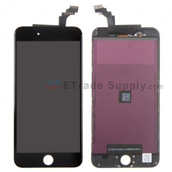 Apple iPhone 6 Plus LCD Assembly with Frame - Black - ETrade Supply
