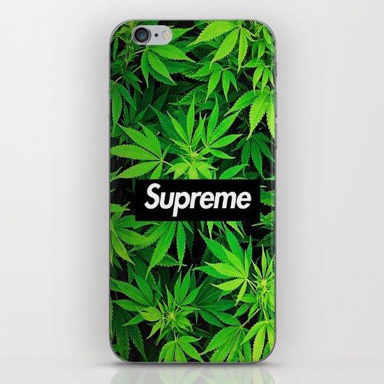 Weedpreme iPhone & iPod Skin by MrWhite