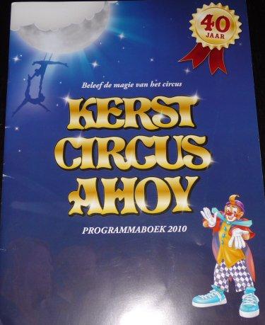 Programme Kerst Circus Ahoy 2010