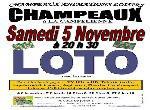 Annonce 'LOTO du 5 novembre 2016 à CHAMPEAUX (77720) '