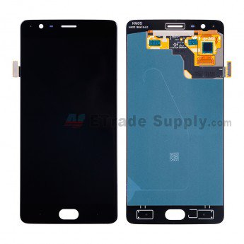OnePlus Three LCD Assembly (A3003 Version) Black - ETrade Supply
