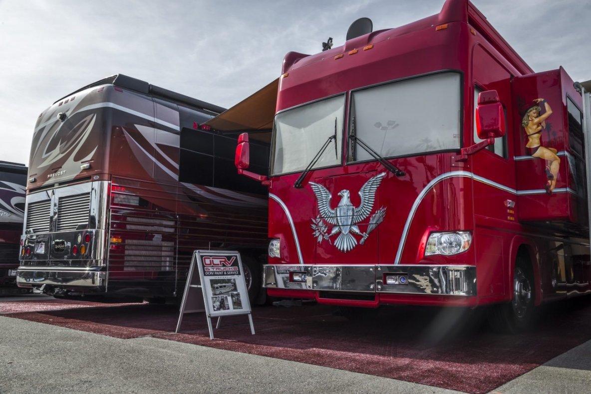 RV Repair Service & Semi Truck Paint Shop In Orange County