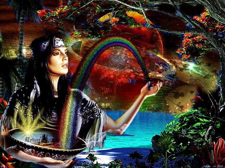 Les couleurs indienne la paix int rieur for La paix interieur