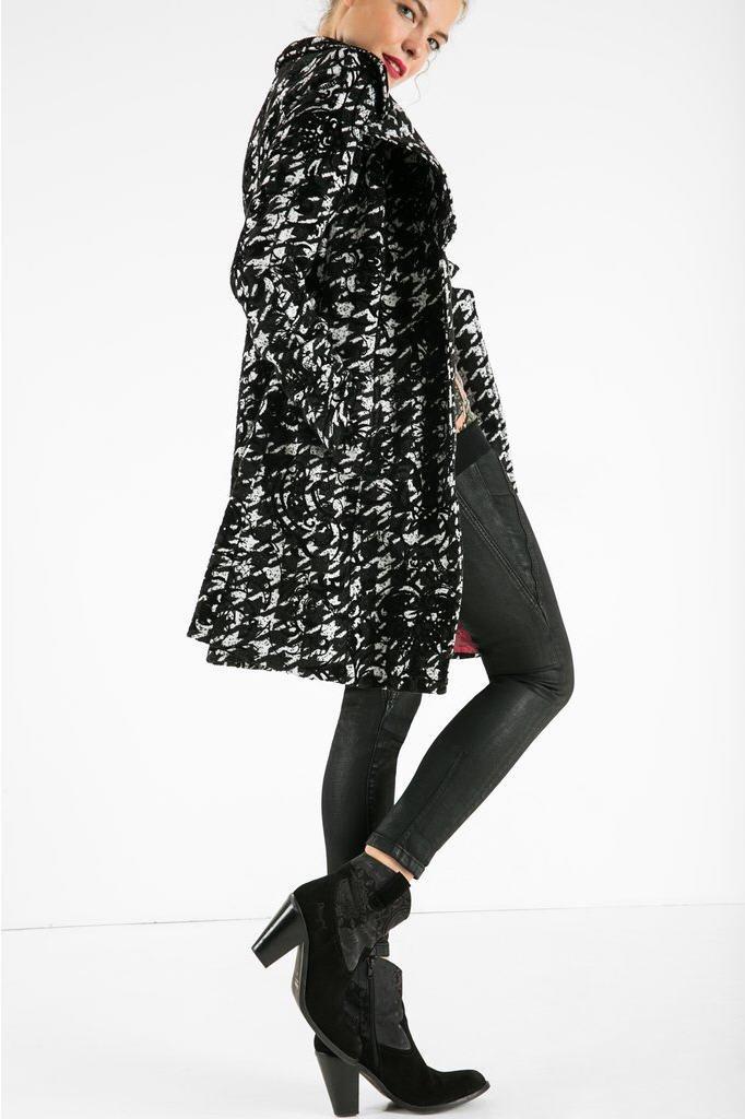 manteau lorena desigual manteau femme desigual. Black Bedroom Furniture Sets. Home Design Ideas