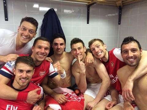 Soccer Players in Underwear