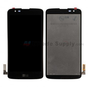 LG K7 MS330 LCD Screen and Digitizer Assembly Black - ETrade Supply