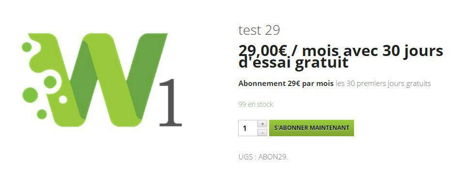 Abonnements et paiements r�currents avec Subscriptions