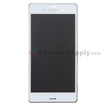 Sony Xperia Z3 LCD Screen and Digitizer Assembly with Frame - ETrade Supply
