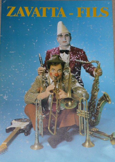 Programme Cirque ZAVATTA Fils 1990