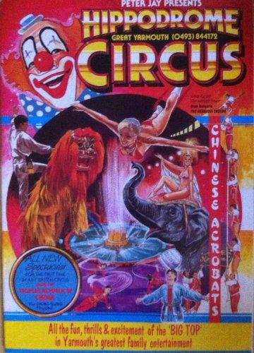 Programme HIPPODROME Circus 1987