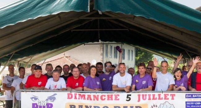 Record d;affluence pour lOrsalher VTT !
