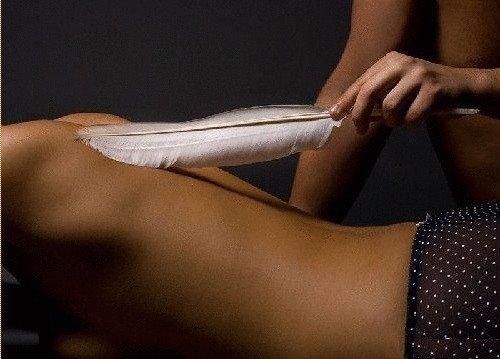 Massage à la plume et Brossage à sec - Accueil