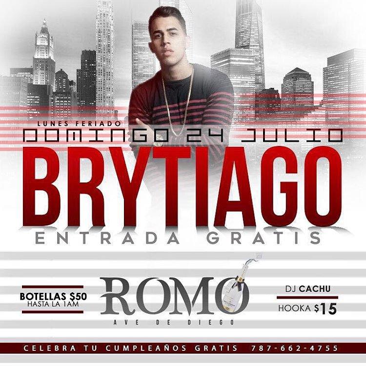 BRYTIAGO  CHANTEUR PORTO RICAIN DE EL CARTEL RECORDS (DADDY YANKEE)