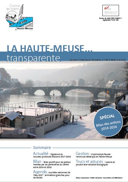 """Les journées Wallonnes de l'eau 2017 (CRHM)  - Rétro sur """"Je découvre ma Ville"""" (2016)"""