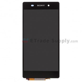 Sony Xperia Z2 LCD Screen and Digitizer Assembly Black - ETrade Supply