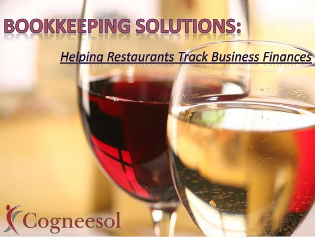 Restaurant Accounting and Bookkeeping Solutions