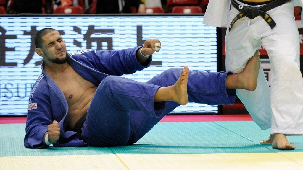 Le judoka �gyptien antis�mite Islam El Shehaby a �t� renvoy� chez lui