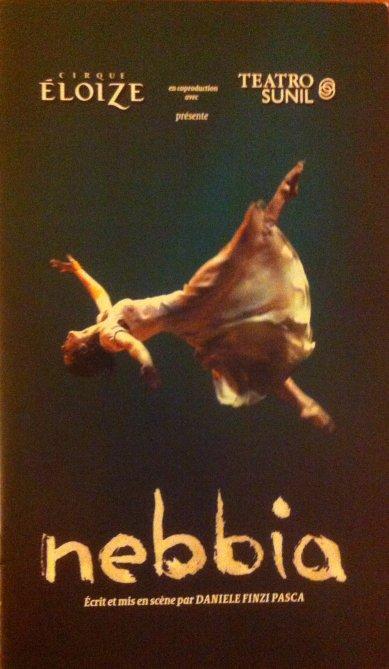 Programme Cirque ELOIZE - Nebbia - 2010