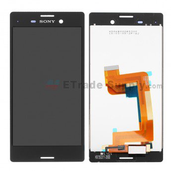 Sony Xperia M4 Aqua LCD Screen and Digitizer Assembly Black - ETrade Supply
