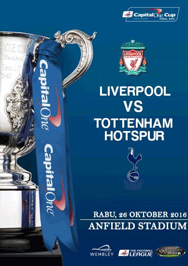 Prediksi Liverpool Vs Tottenham Hotspur 26 Oktober 2016   99 Bola