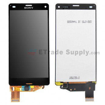 Sony Xperia Z3 Compact LCD Assembly - Black - ETrade Supply