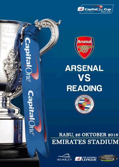 Prediksi Arsenal Vs Reading 26 Oktober 2016   99 Bola