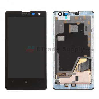Nokia Lumia 1020 LCD Screen and Digitizer Assembly with Front Housing - ETrade Supply