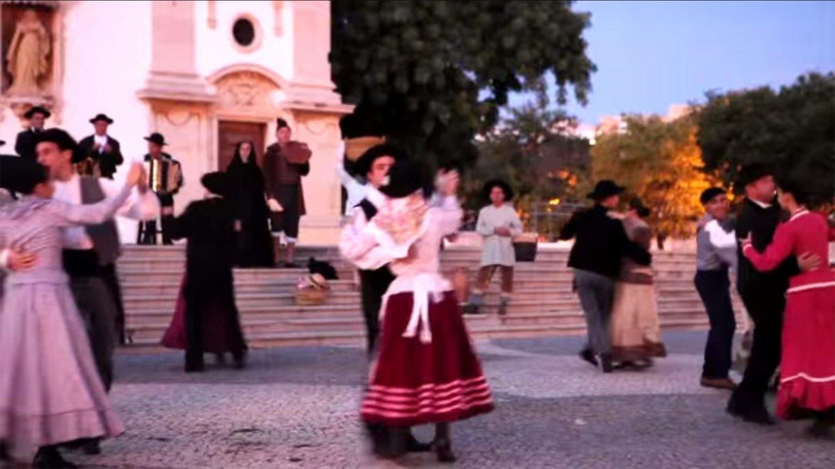 Corridinho do Algarve - Folclore Algarvio - Ranchos - Portugal