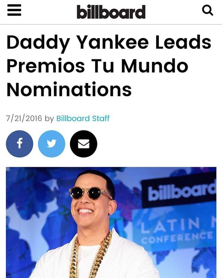 Instagram photo by Daddy Yankee • Jul 21, 2016 at 3:58pm UTC