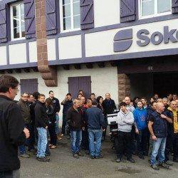 Les salarie e s de sokoa continuent leur mouvement for Sokoa hendaye