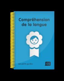 Compréhension de la langue GS | Les Editions de la Cigale