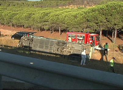 France: deux morts dans un accident d'autocar dans l'Aude