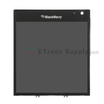 BlackBerry Passport LCD Assembly with Frame Black - ETrade Supply