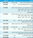 التربية تجري تعديلات على التقويم الدراسي للفصل الثاني 1433