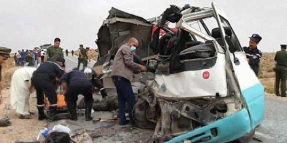 07-01-2017 - M'sila - 10 morts et 12 blessés dans un accident de la circulation à Oultam