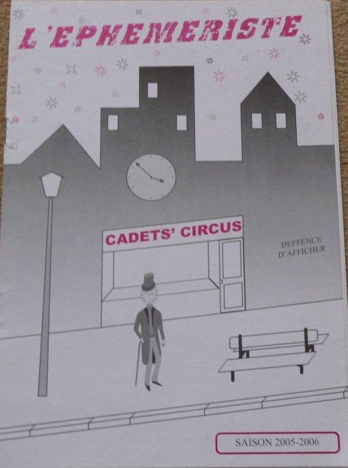 Programme CADETS' CIRCUS 2005-2006 - 1