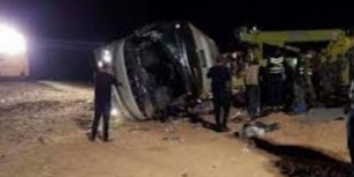 2016-12-26 - Maroc - Fès - Sidi Kacem - Accident Autocar - Neuf morts et 45 blessés dans un accident d'autocar.